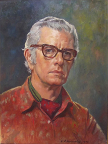 Geoffrey Mainwaring Self Portrait (undated) Image: Private Collection