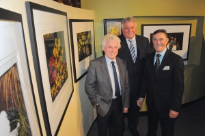 Mr Roger Trudgeon, Emeritus Professor Terry Lloyd and Dr Jeremy Johnson at the exhibition launch Image: © Sovereign Hill Museums Association