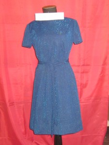 Blue dress c. 1950s-60s  (2011.0317) Image: Gold Museum Collection