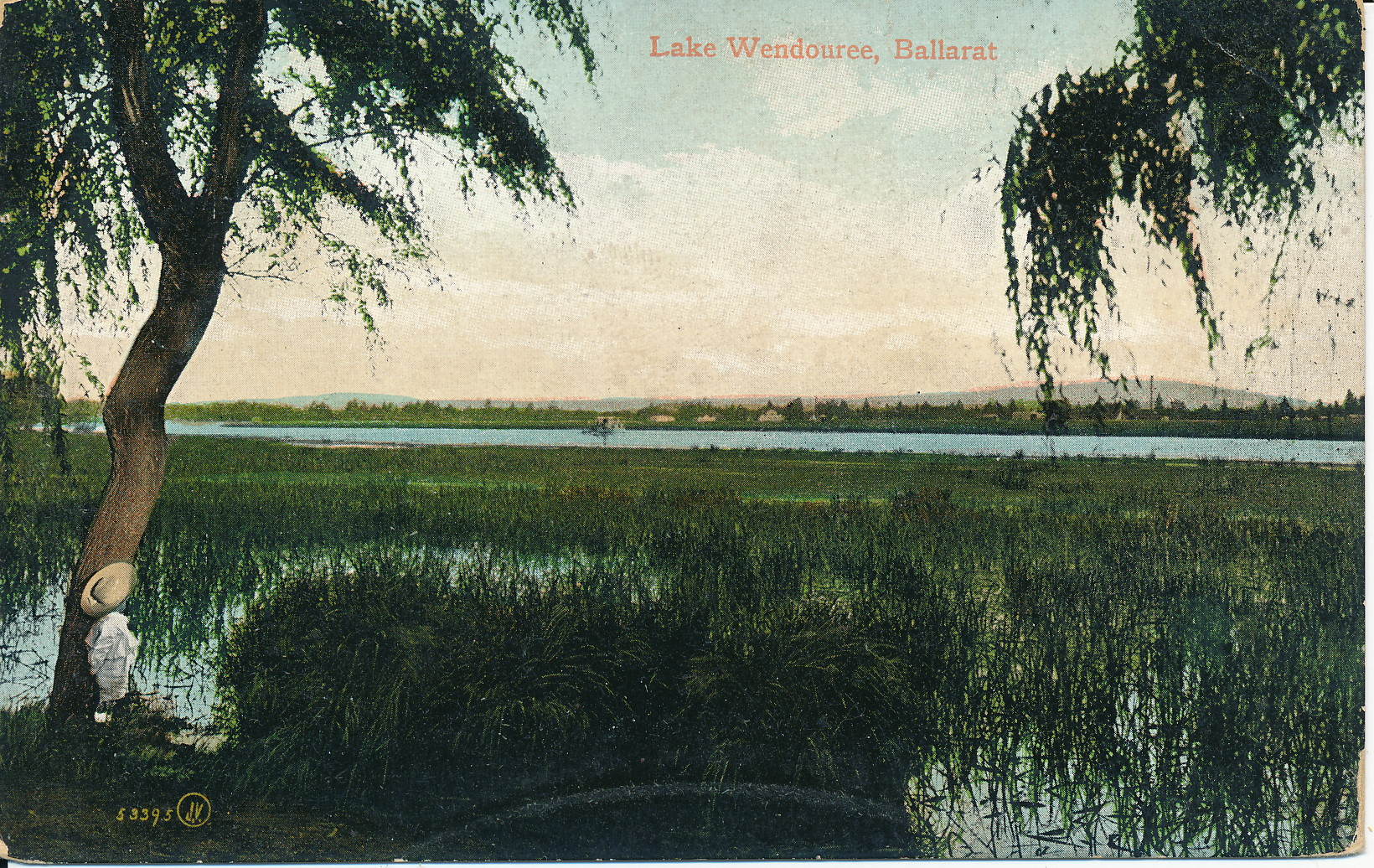Lake Wendouree, circa 1908 (Gold Museum collection)