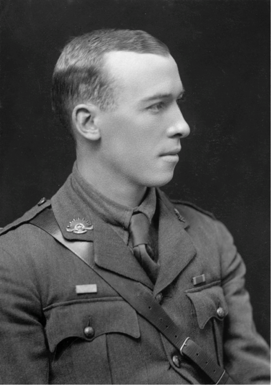 Major Leslie Coulter (National Archives of Australia)