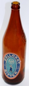 Ballarat Bitter beer bottle (Ballarat Historical Society collection, 78.2448)