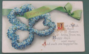 Postcard from John and Tel Hammon to their sister Jessie (Gold Museum collection, 2011.0435)