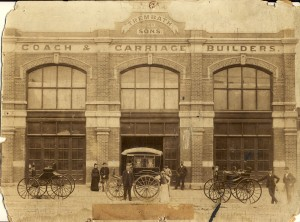 Trembath & Sons Coach and Carriage Builders, Ballarat, circa 1890