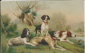Hunting dogs (Gold Museum collection, 70.3750)